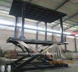 Двойной подъем автомобиля палубы 6000kg гидровлический