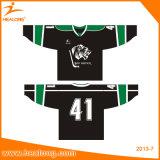 Healong Sublimation USA Custom College Ice Hockey Jerseys Chemises