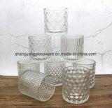 Botella de cristal del sostenedor de vela de la alta calidad del precio bajo para el uso casero de la decoración