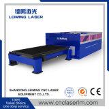 Taglierina piena del laser della fibra di protezione di Lm4020h con l'acciaio inossidabile della tabella 5mm di scambio