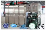 Congélateur horizontal hydraulique de plaque de contact de poissons de crevette