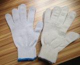 7 перчаток хлопка датчика, поли хлопок, перчатка безопасности/перчатки работы