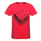 T-shirt estampé par 3D fait sur commande de coton pour les hommes (M002)