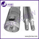 Twin cónico Screw Barrel/Cylinder para PVC Pipe/Sheet
