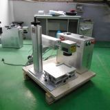 Mini máquina de grabado de plástico sello de láser de fibra con ce