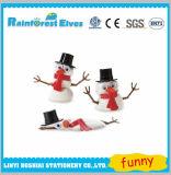 Jouets de fonte de bonhomme de neige de Handgum DIY pensant le mastic pour des gosses