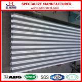 Feuille enduite de toiture de fer de zinc en aluminium ondulé d'ASTM A792 Az100