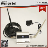 Répéteur de téléphone mobile de la taille 2100MHz du prix usine mini 3G avec l'affichage à cristaux liquides