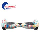 Koowheel 6.5 собственной личности Hoverboard батареи Samsung дюйма скейтборд самоката удобоподвижности электрического стоящего самоката колеса E-Самоката 2 франтовских балансируя электрический