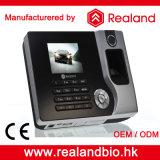 Impressão digital de Realand e de cartão de RFID sistema do comparecimento do tempo