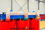 電源のための樹脂によって形成される乾式の分布の電源変圧器