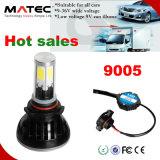 Linterna principal auto 8000lm del coche LED de la lámpara de la luz 8000lumens 80W 9005 LED del coche LED de la fábrica de la linterna principal LED del coche