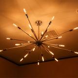 Rétro longue ampoule E12 E14 Edison de base T20/T6 de filament de DEL