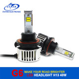 Hete Sell LED Headlight H13 Hi/Lo Bulbs 40W 4500lm