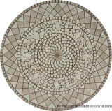 ホテルのホールの装飾のための混合された大理石のモザイク模様の床タイル