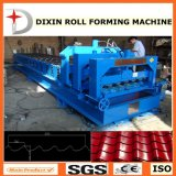 La nueva máquina de Dixin 2017 esmaltó el rodillo del azulejo de material para techos que formaba la máquina