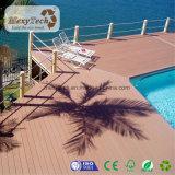 Luxuxfarben-KornWPC zusammengesetzter Decking 145*21mm
