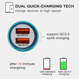 36W le chargeur rapide QC3.0 conjuguent chargeur de véhicule d'USB pour l'androïde/iPhone