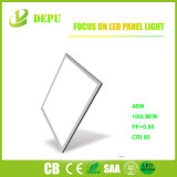 Ce/TUV/RoHS ningún cuadrado grande de las luces del panel del panel 60*60 40With48With60W LED del flash LED