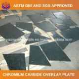 Плита износа карбида хромия для машины песка взрывая