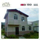Chambre en acier légère à la maison confortable préfabriquée de villa d'usine de la Chine