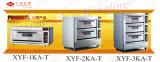 Kundenspezifischer doppeltes Plattform-Handelsbäckerei-Geräten-elektrischer Ofen für Verkauf