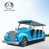 8 Seaters商業カスタマイズされた車の観光のカートの電気手段のゴルフカート