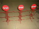 Kundenspezifische Supermarkt-Metalldraht-Förderungcountertop-Ausstellungsstände
