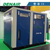 compresseur d'air exempt d'huile de vis de graissage de l'eau 18kw/25HP