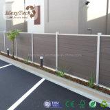抵抗のオーストラリア紫外線様式の屋外の庭のプライバシーWPCの塀