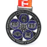 New Theme Enamel Zamak Company récompense la médaille