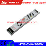 24V12.5A超薄いLEDの電源またはライトボックスまたは適用範囲が広いストリップ