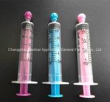 seringa de 5ml 0ral/Enteral com o tampão da ponta para alimentar