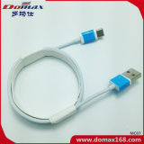 Cable USB TPE color blanco cable cargador para el iPhone con el paquete