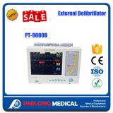 Le moniteur de défibrillateur externe le meilleur marché d'équipement médical avec la qualité