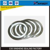 Gaxeta resistente de alta temperatura do enrolamento da espiral do anel de Ss304 Inner&Outer