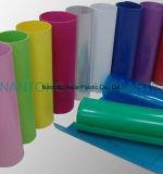 Folha rígida do PVC dos materiais do uso da tampa dos artigos de papelaria