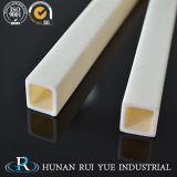 Barra quadrata di ceramica dell'allumina dell'isolamento di resistenza all'usura