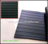 Широкий Ribbed резиновый лист, Anti-Slip резиновый циновка, Anti-Slip Floorin