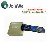 Cadre intelligent de Mecool Hm8 S905X Ott TV de l'androïde 6.0 de Google