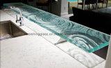 Comptoirs de verre colorés à grande température et grande qualité