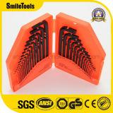 30 피스 HEX 키 렌치 조합 인치 또는 미터 세트
