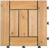 Suelo de madera al aire libre con la base los 30*30cm del PE