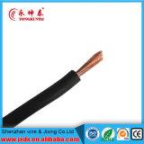Fio flexível do PVC com condutor de cobre