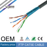 Cable de la red del ftp Cat5e de la alta calidad 0.5copper de Sipu con Ce