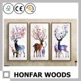 Blocco per grafici di legno della pittura di grande di formato della casa della decorazione arte della parete