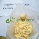 Carbonato esteroide de Trenbolone Hexahydrobenzyl del polvo del ciclo que abulta