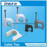 Clips de cable cuadrados de los PP de la venta caliente