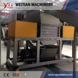 Plástico/madera/neumático/metal/chatarra/espuma/batería/fábrica municipal de la desfibradora de la trituradora de la basura sólida