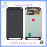 Передвижной франтовской экран касания LCD сотового телефона для Samsung S5 G870 G870A
